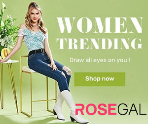 Rosegal, fashion that never goes out of style