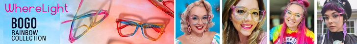 Highlight your personal style with WhereLight Eyewear